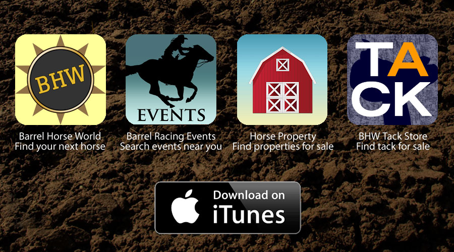 Download the Barrel Horse World Apps