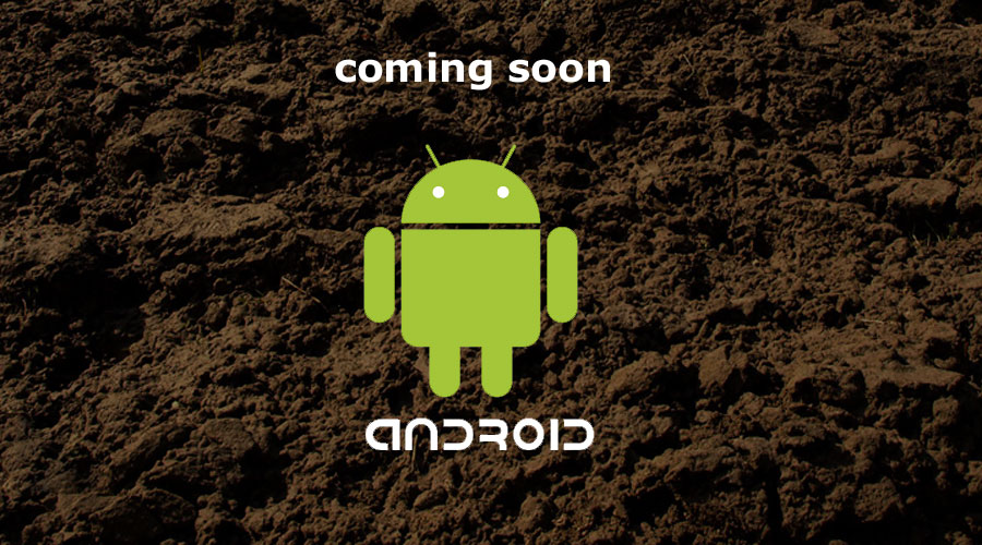 Android apps coming soon