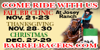 Josey Ranch Barrel Racing Clinics