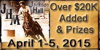 Jackson Hall Memorial Barrel Racing
