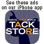 Tack for sale on the Barrel Horse World app